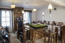 Chief Rabbi at Aberdeen Shul